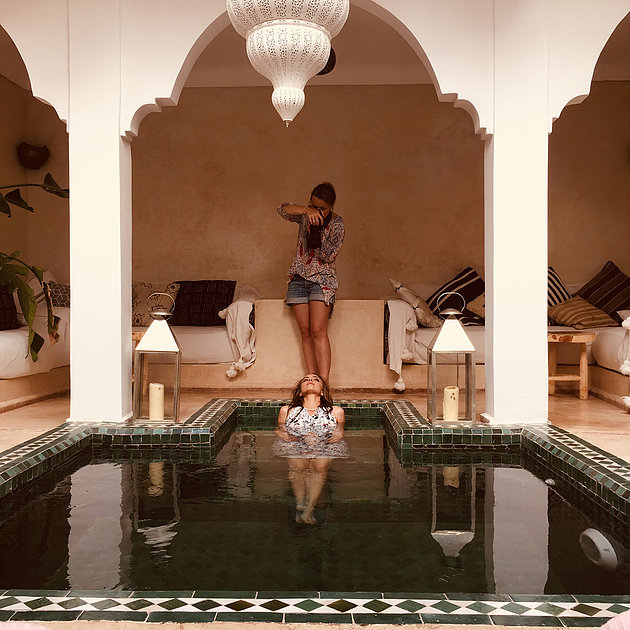 Shooting au Maroc